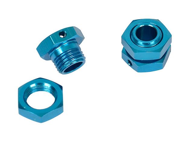 Hongnor 1/8 Lock Nut Blue #X1-26-2 (2P) 003