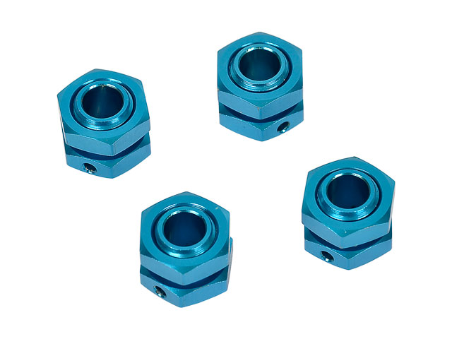 Hongnor 1/8 Lock Nut Blue #X1-26-4 (4P) 002