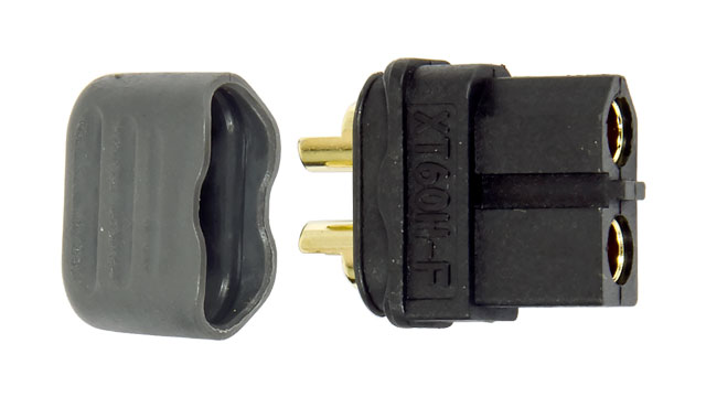 Amass Connector XT60 Black Female 001