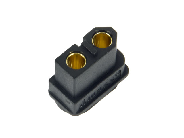 Amass Connector XT60 Black Female 002