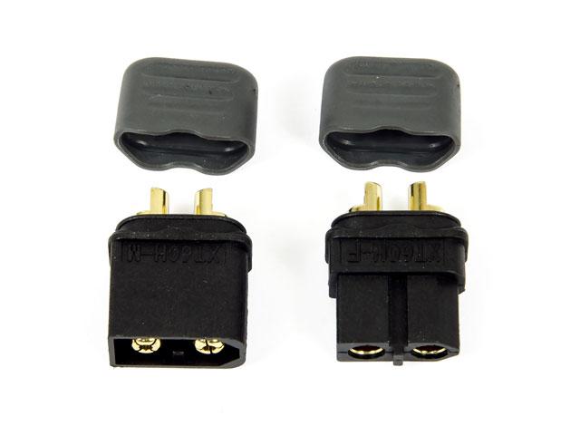 Amass Connector XT60 Black Set 001