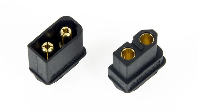 Amass Connector XT60 Black Set 002