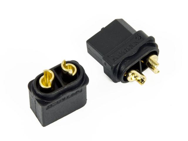 Amass Connector XT60 Black Set 003