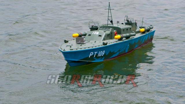 Tàu Chiến PATROL PT 109 TOPEDO 130cm RTR