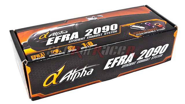 Pô Alpha EFRA-2090 for 1/8 Racing (full set)