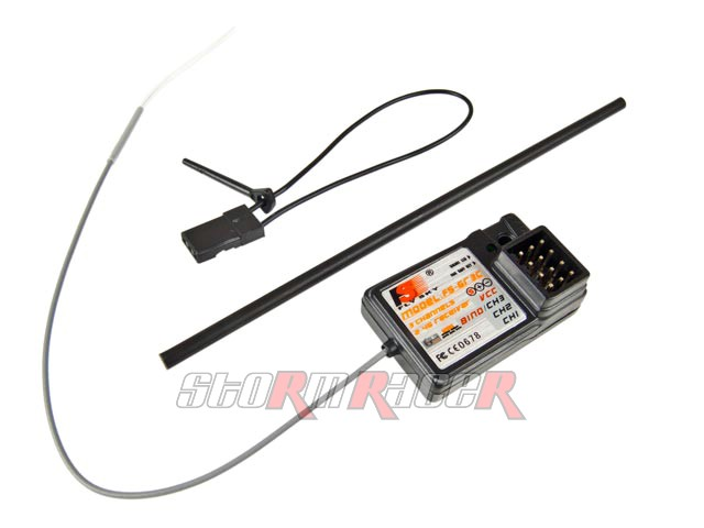 Receiver 3CH 2.4G for GT-2 / GT-3B (1P)