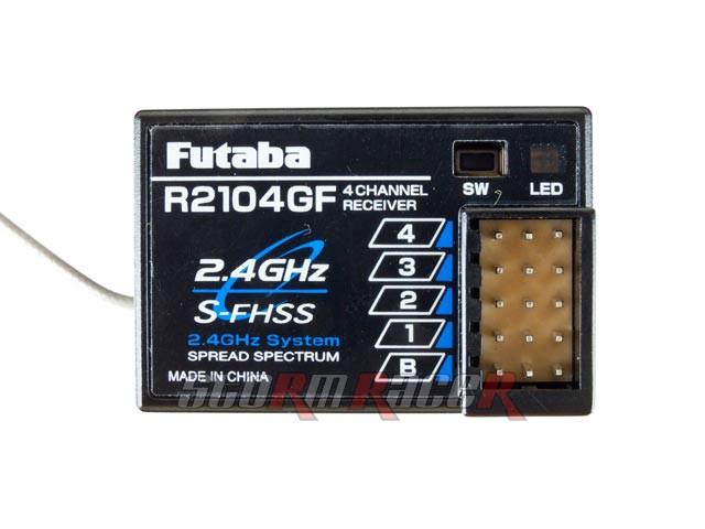 Receiver Futaba 4CH 2.4G R2104GF