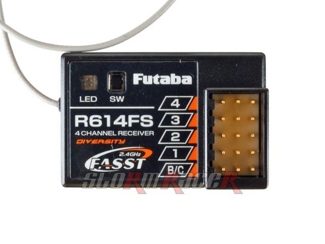 Receiver Futaba 4CH 2.4G R614FS