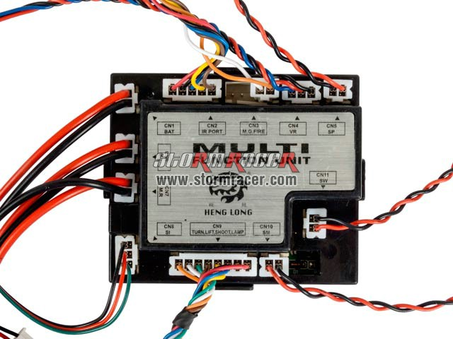 HengLong RX-18 Multi Function Unit for RC Tank 006