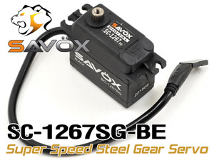 Savox Super Speed Steel Gear Servo SC-1267SG-BE