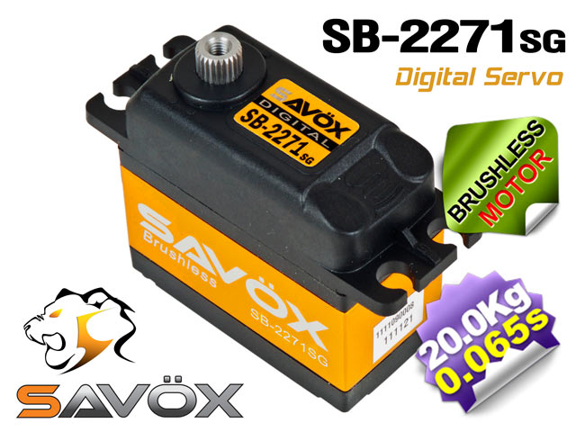 Savox HV Brushless Digital Servo SB-2271SG