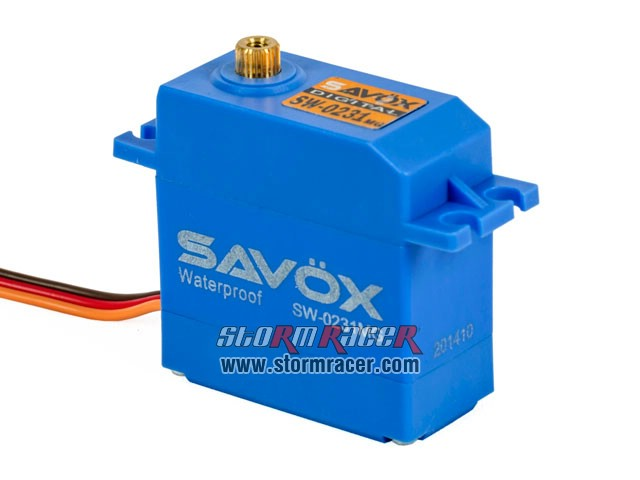 Savox WaterProof Digital Servo SW-0231MG 002