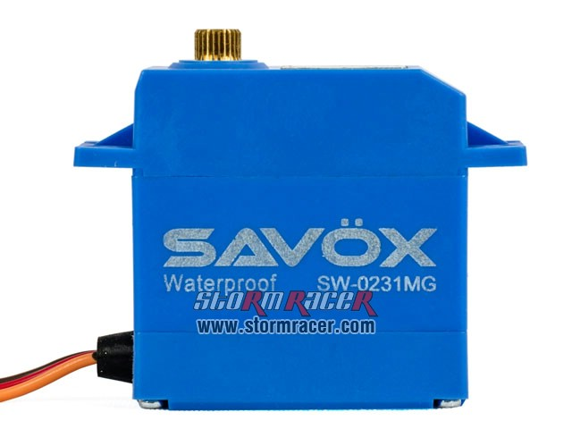 Savox WaterProof Digital Servo SW-0231MG 004