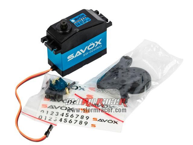 Savox WaterProof Digital Servo SW-0240MG 003