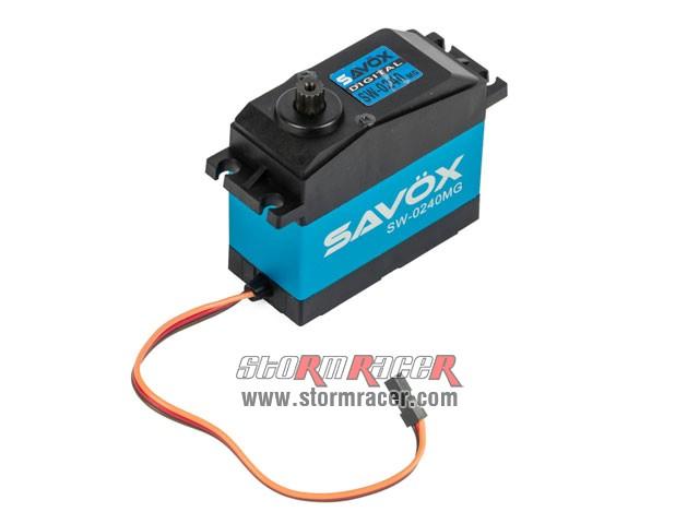 Savox WaterProof Digital Servo SW-0240MG 008