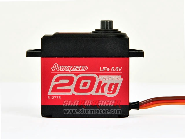 PoserHD Digital Servo LF-20MG 008