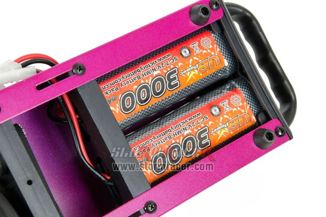 HSP Table Starter with 2 Ni-MH 7,2V 3000mAh 004