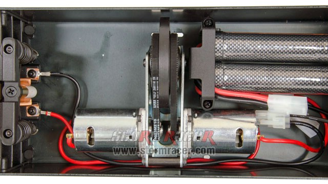 MugenSeiki Table Starter with 2 Ni-MH 7,2V 3000mAh 005