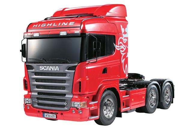 Tamiya 1/14 RC SCANIA R620 Tractor 4x2 #56323 012