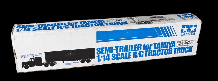 Tamiya 1/14 Semi-Trailer for Truck (KIT #56302)