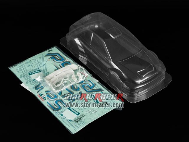 Tamiya 1/10 Body Ford Focus RSW-03 #51037 003