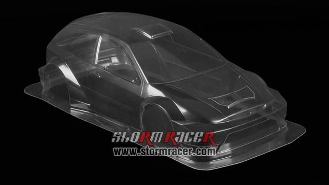 Tamiya 1/10 Body Ford Focus RSW-03 #51037 004
