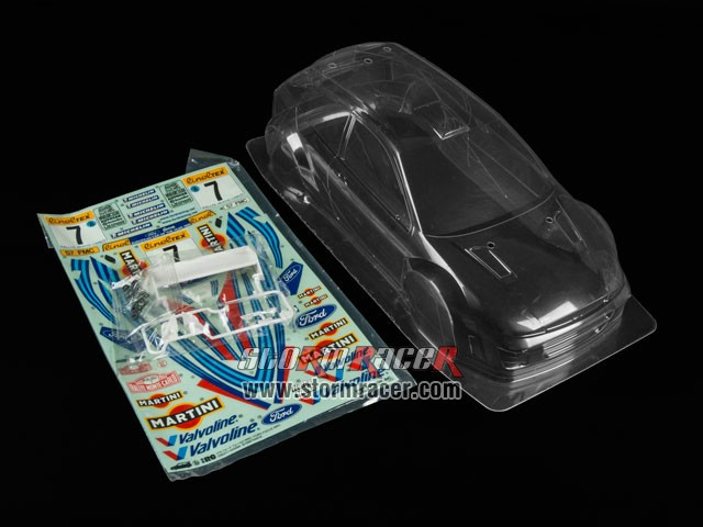 Tamiya 1/10 Body Ford Focus WRC #50847 001