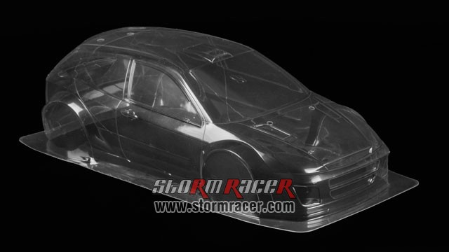 Tamiya 1/10 Body Ford Focus WRC #50847 002