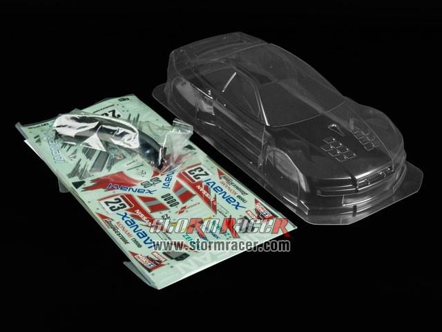 Tamiya 1/10 Body Nissan Xanavi Nismo GT-R #51041 002