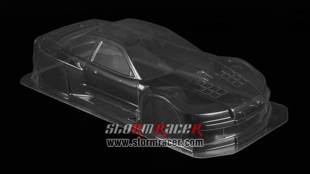 Tamiya 1/10 Body Nissan Xanavi Nismo GT-R #51041 003