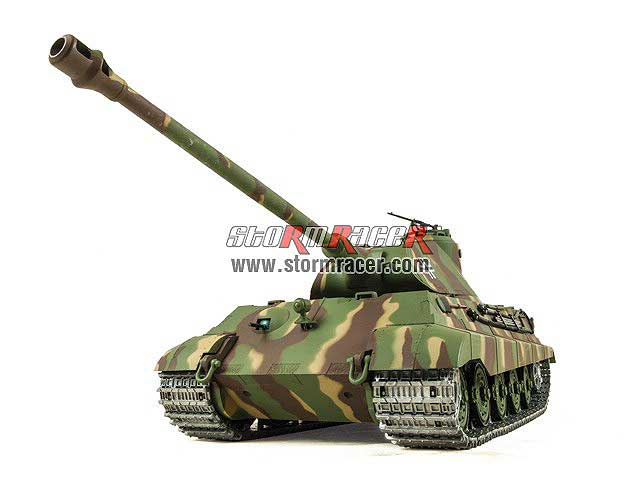 German King Tiger 2.4G xích kim loại