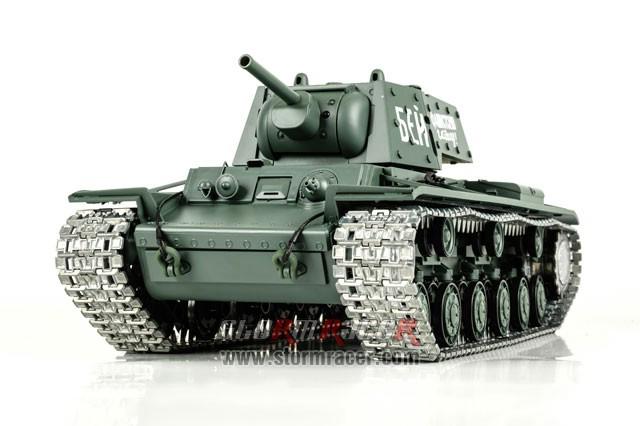 Tank Sô Viết KV-1 2,4G xích kim loại 006
