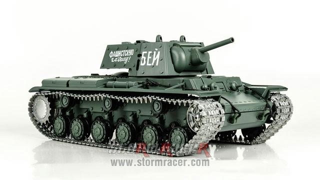 Tank Sô Viết KV-1 2,4G xích kim loại 008
