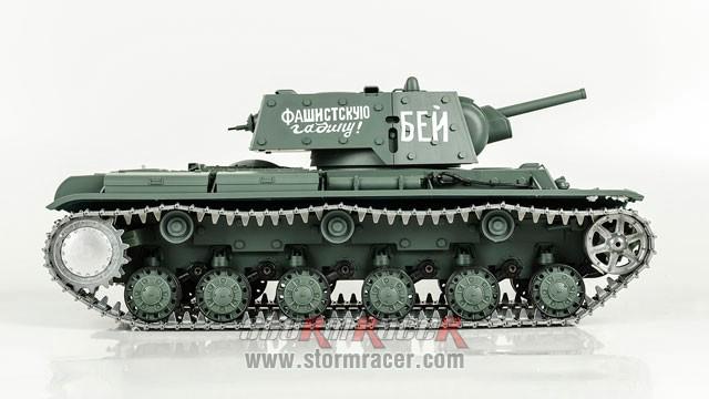 Tank Sô Viết KV-1 2,4G xích kim loại 012