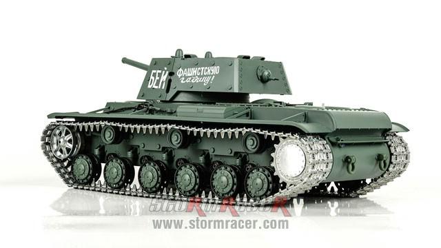 Tank Sô Viết KV-1 2,4G xích kim loại 014