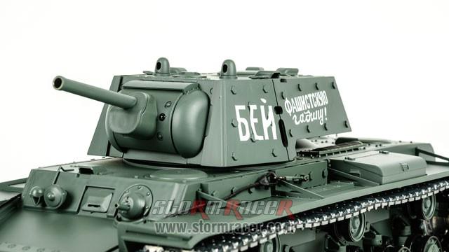 Tank Sô Viết KV-1 2,4G xích kim loại 016