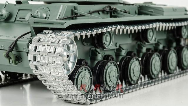 Tank Sô Viết KV-1 2,4G xích kim loại 018