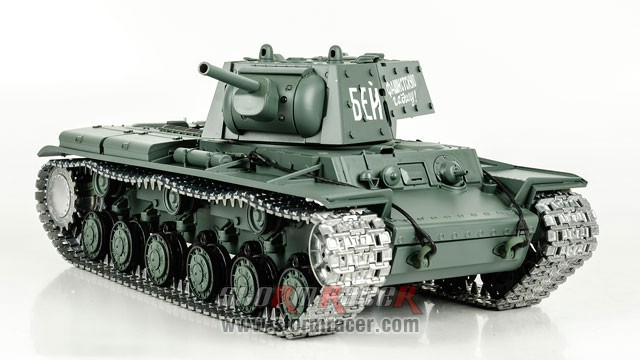 Tank Sô Viết KV-1 2,4G xích kim loại 027