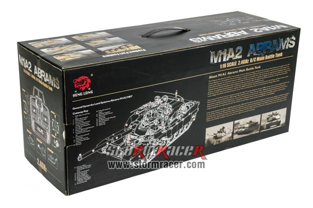 US M1A2 ABRAMS xích kim loại 024