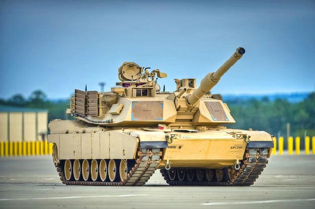 US M1A2 ABRAMS xích kim loại 026