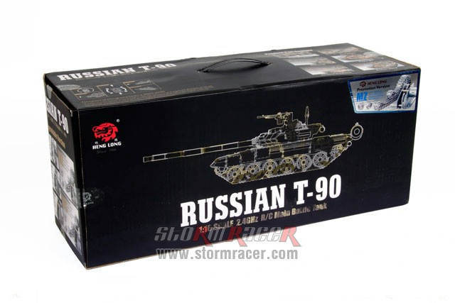 Tank Russian T90 1/16 Xích Kim Loại (RTR 2.4G) 001
