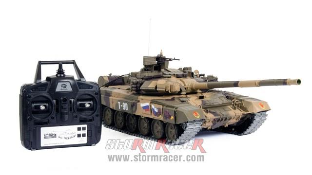 Tank Russian T90 1/16 Xích Kim Loại (RTR 2.4G) 005