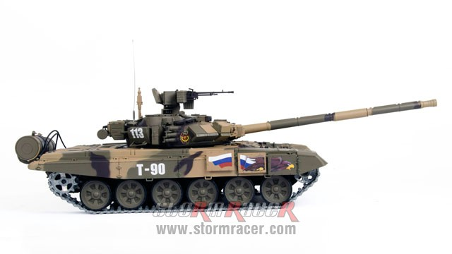 Tank Russian T90 1/16 Xích Kim Loại (RTR 2.4G) 010