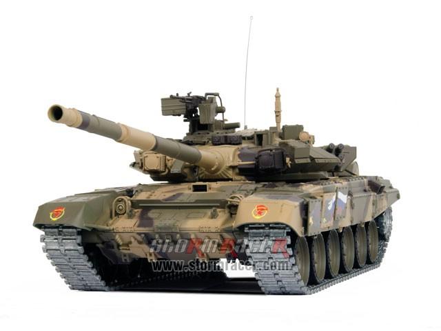 Tank Russian T90 1/16 Xích Kim Loại (RTR 2.4G) 014