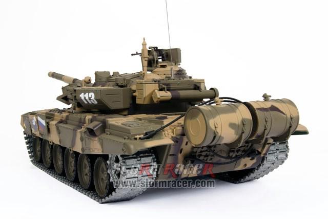 Tank Russian T90 1/16 Xích Kim Loại (RTR 2.4G) 016
