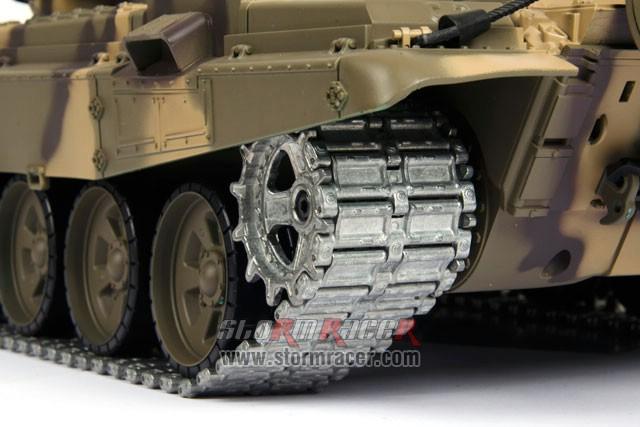 Tank Russian T90 1/16 Xích Kim Loại (RTR 2.4G) 018
