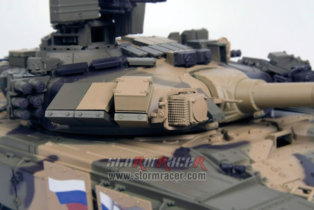 Tank Russian T90 1/16 Xích Kim Loại (RTR 2.4G) 025