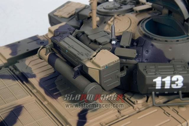 Tank Russian T90 1/16 Xích Kim Loại (RTR 2.4G) 028
