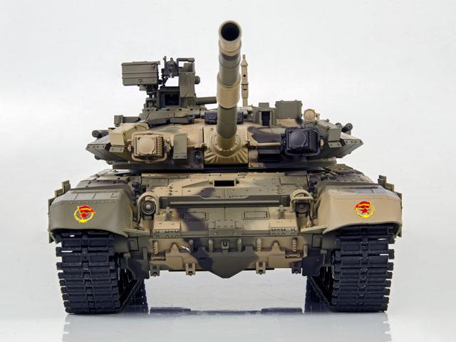 Tank Russian T-90 1/16 Xích Nhựa (RTR 2.4G) 007