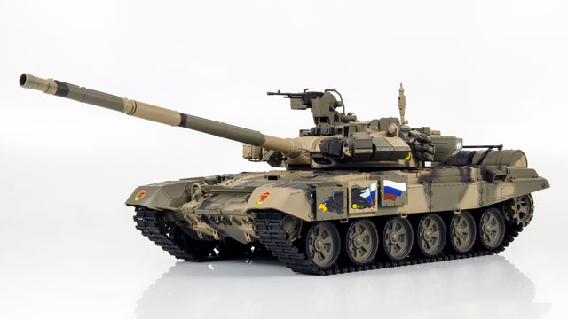 Tank Russian T-90 1/16 Xích Nhựa (RTR 2.4G) 008